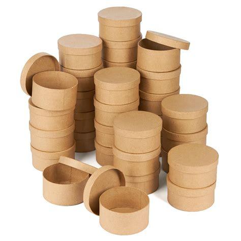 Round Craft Boxes