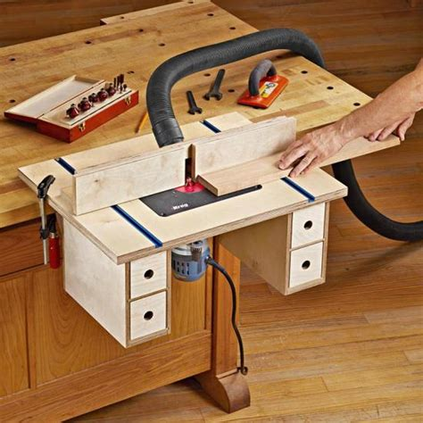 Router Bench Plans