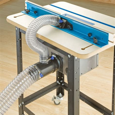 Router Table Dust Port