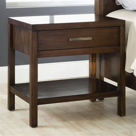 Rowe 1 Drawer Nightstand