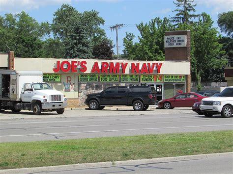 Army-Surplus Royal Oak Army Surplus Store.