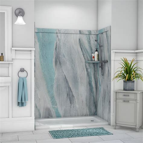 "Royale 80""H x 60""W x 36""D Three Panel Shower Wall"