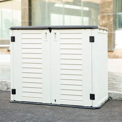 Rubbermaid Garbage Can Storage Sheds