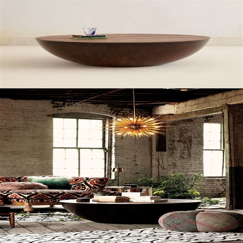 Ruffle Design Coffee Table