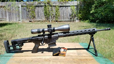 Rifle Ruger Precision Rifle.