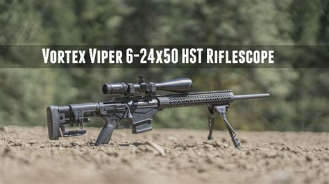 Vortex-Scopes Ruger Precision Rifle With A Vortex Viper Hst Scope.