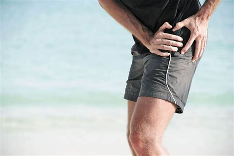 running with a hip flexor injury