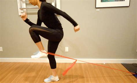 running with a hip flexor strain