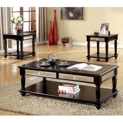 Rushford 3 Piece Coffee Table Set