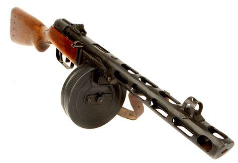 Tommy-Gun Russian Ww2 Tommy Gun.