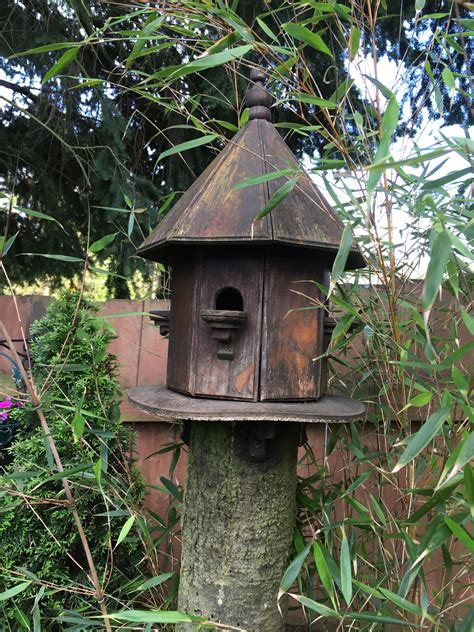 rustic outdoor birdhouses