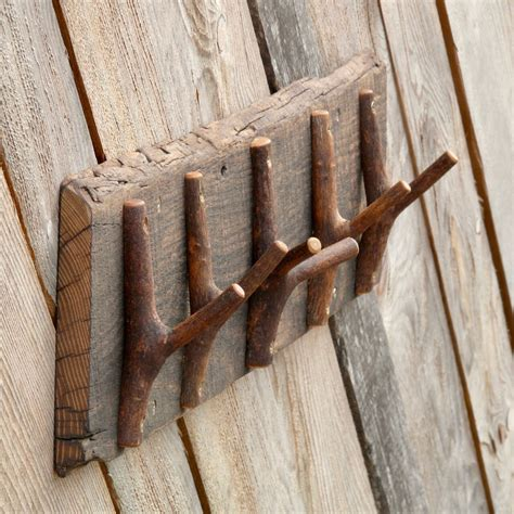Rustic Branch Coat Rack