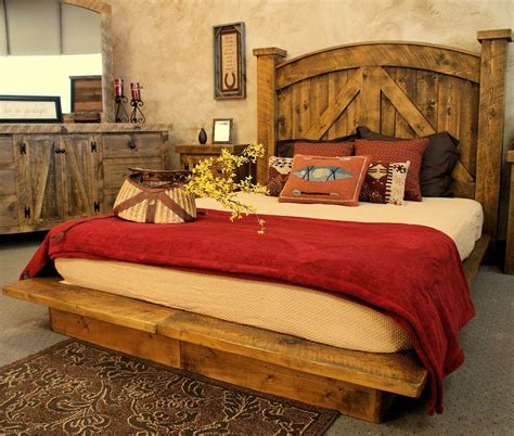 Rustic Bed Plans