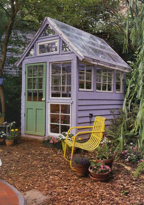 Rustic Garden Sheds With Greenhouses
