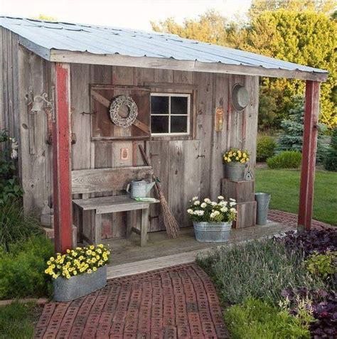 Rustic Shed Designs