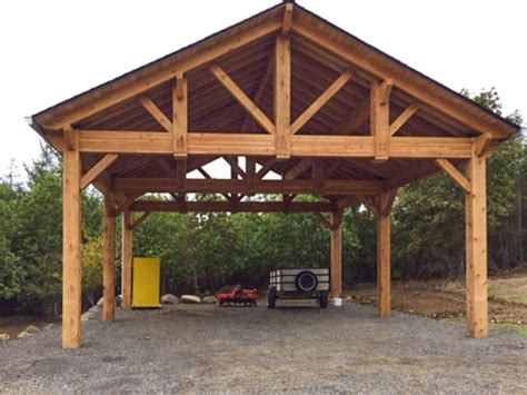 Rv Carport Plans Wood