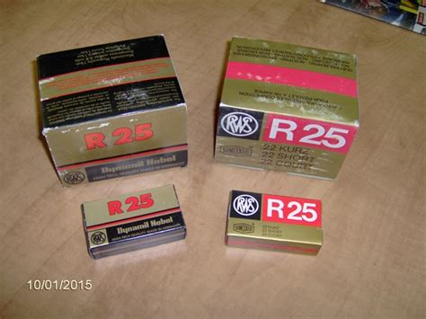 Ammunition Rws .22 Short Ammunition.