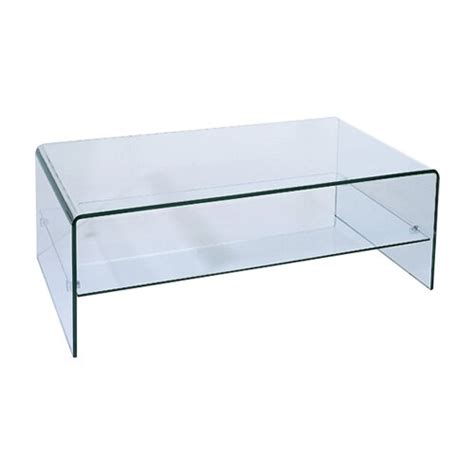 Ryder Coffee Table with Storage Shelf