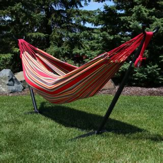 Rylie Cotton Hammock with Stand