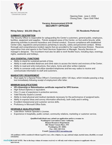 beautiful corrections officer resume contemporary simple resume