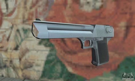 Desert-Eagle Saints Row 2 Gold Desert Eagle.
