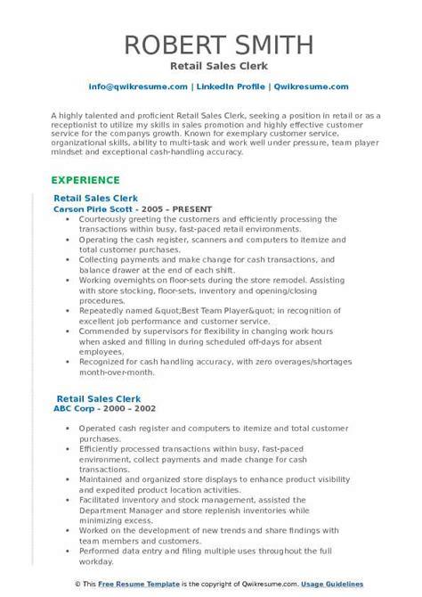 Resume For Sales Utility Clerk Resume For Sales Utility Clerk Clerk Resume  Examples O Resumebaking Clerk