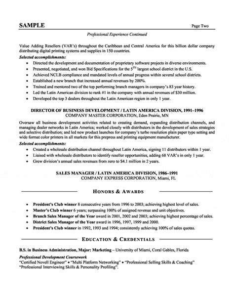 executive resumes templates samples executive resume templates sales executive resume template 10 executive resume templates free - Executive Resumes Templates