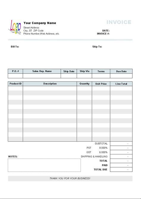 sales invoice format in excel download free | resume writing education, Simple invoice
