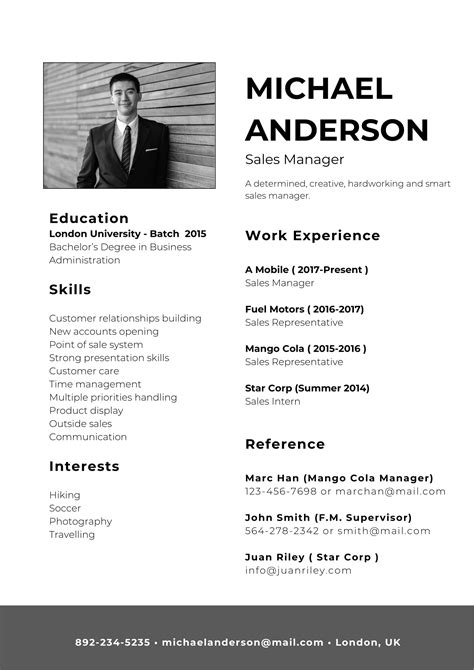 Resume Resume Format In Word For Sales sales resume format in word scholarship application letter examples freewordtemplates