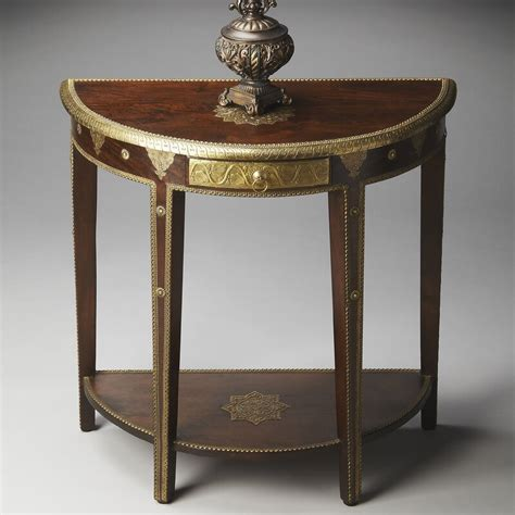 Salguero Demilune Console Table