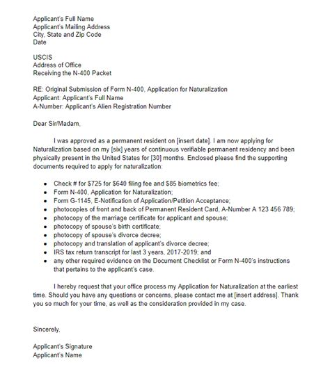Sample I Cover Letter Invoice Example