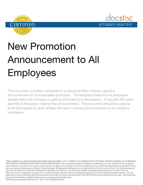 Company Announcement Letter Image Collections - Download Cv Letter