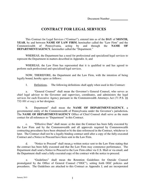 Sample Contract Of Employment Teacher Legal Forms And Document Templates Free Download