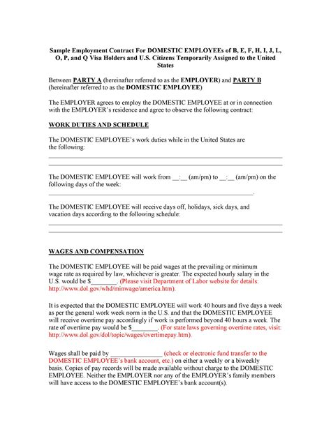 Sample Contract Of Employment Teacher Sample Of Employment Agreement Lawonline Singapore