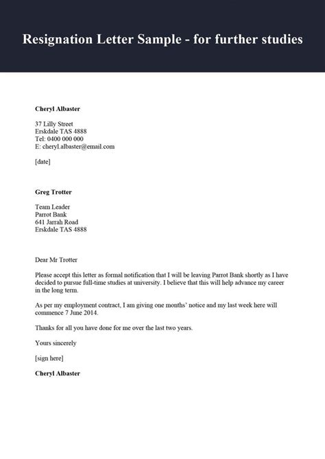 Sample Contract Of Employment Teacher Sample Resignation Letter Not Renewing Contract Employment