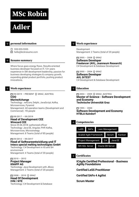 How To Create Company Resume   Resume Maker  Create professional
