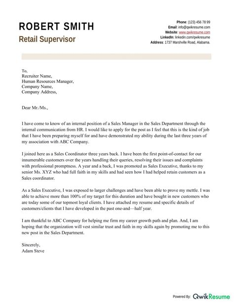 Sample Cover Letter For Finance Internship With No Experience Letters