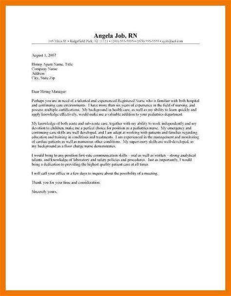 public health nurse cover letters