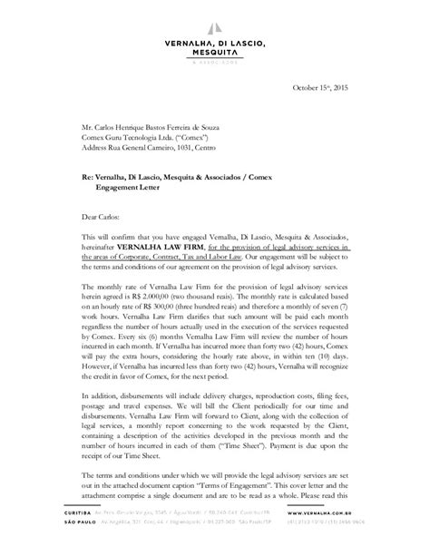 sample cover letters law firm law firm engagement letter sample letters. Resume Example. Resume CV Cover Letter