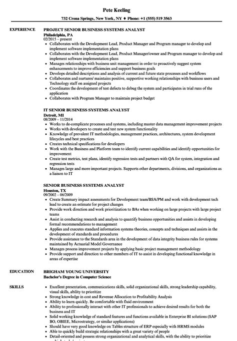 It Business Analyst Cover Letter Sample