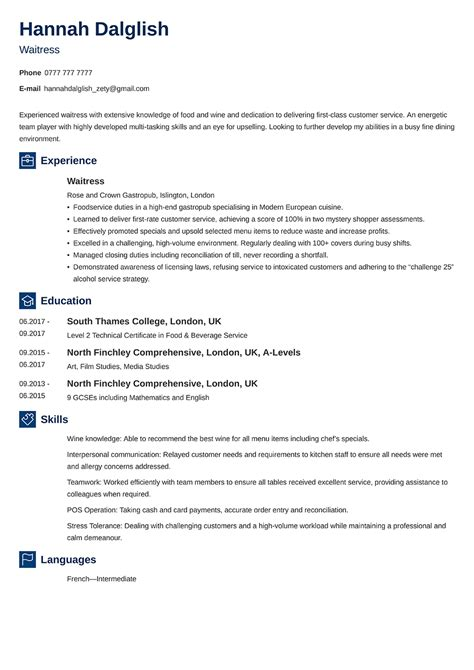Sample Curriculum Vitae For Research Assistant Curriculum Vitae Tips And Samples