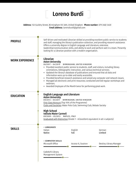 sample curriculum vitae librarian librarian resume examples for a winning resume. Resume Example. Resume CV Cover Letter