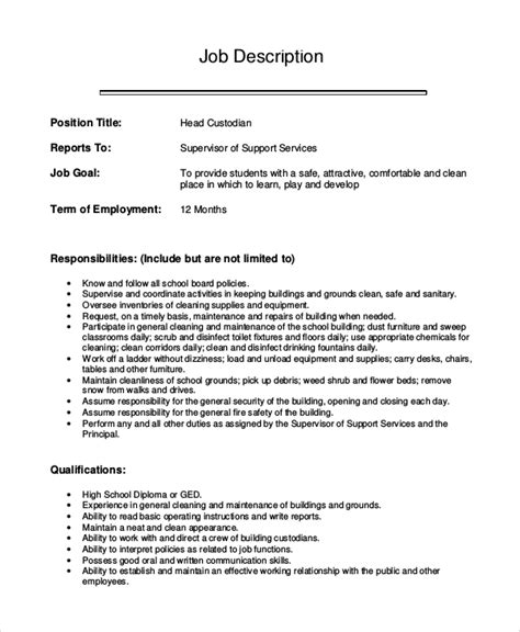 Sample cover letter resume janitor clinicalneuropsychology us Example Of A Resume Cover Letter    Entry Level Janitor   Uxhandy com