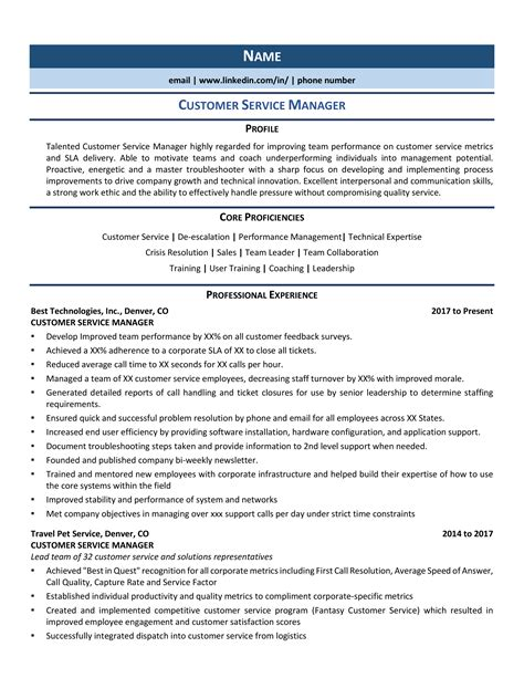 sample customer service resume summary qualifications customer service manager resume sample - Sample Customer Service Manager Resume