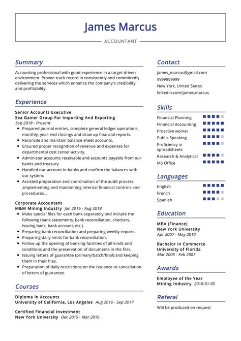 Sample Cv New Zealand Accountant Cv Samples Accountant Cv Templates Livecareer
