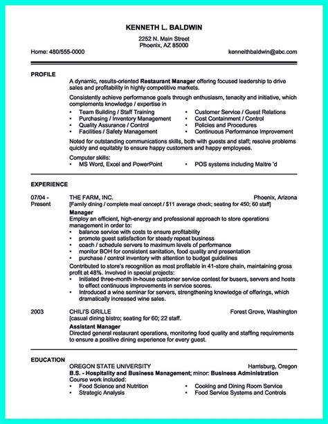 Sample Cv New Zealand Catering Manager Cv Sample Manager Cv Template Livecareer