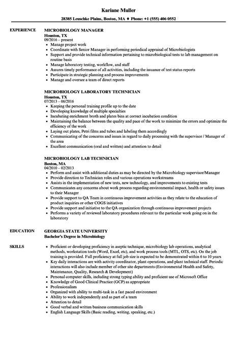 Sample Cv Of Medical Lab Technician Microbiology Lab Technician Cover Letter Sample Lab
