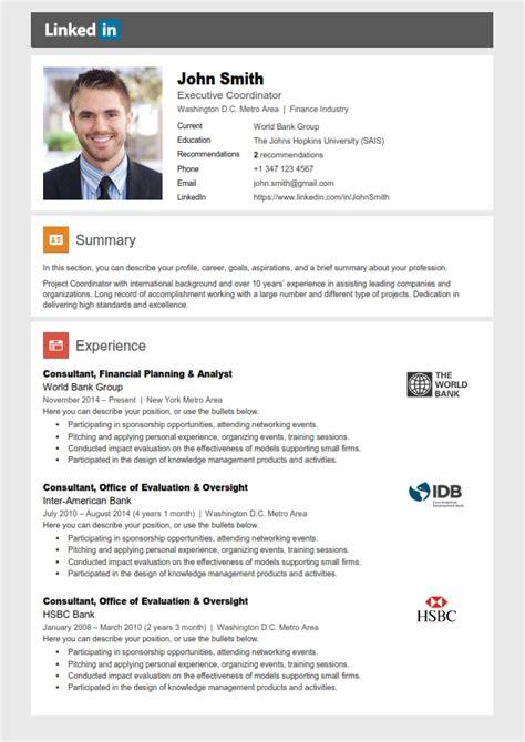 sample cv linkedin resume samples linkedin - Resume Linkedin