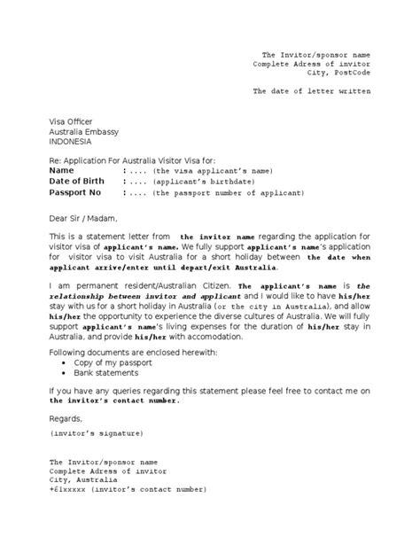 Sponsor letter for australian visa greek letter for p sponsor letter for australian visa sample invitation letter for australia visitor visa to spiritdancerdesigns Images