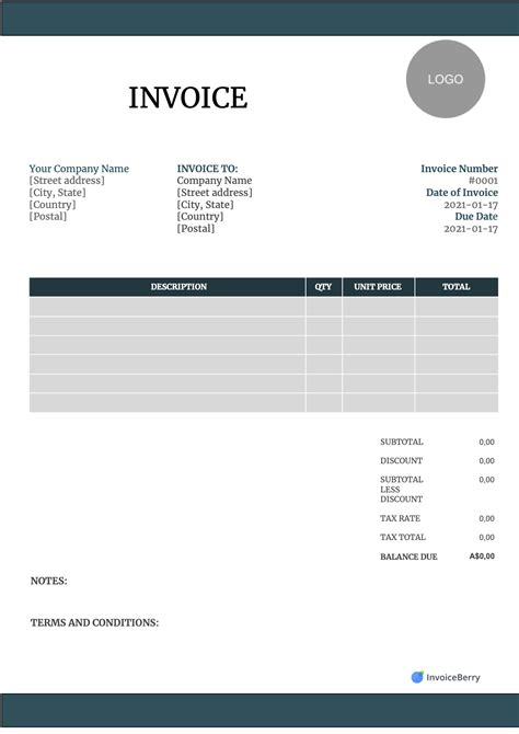 sample invoice format | best sample resume for cna, Invoice examples